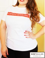 Camiseta CUERPO SERRANO by Pretty and Olé